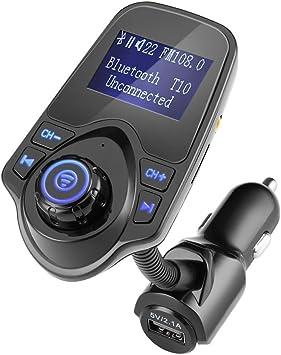 Winnes Bluetooth Fm Transmitter Auto Radio Adapter Elektronik