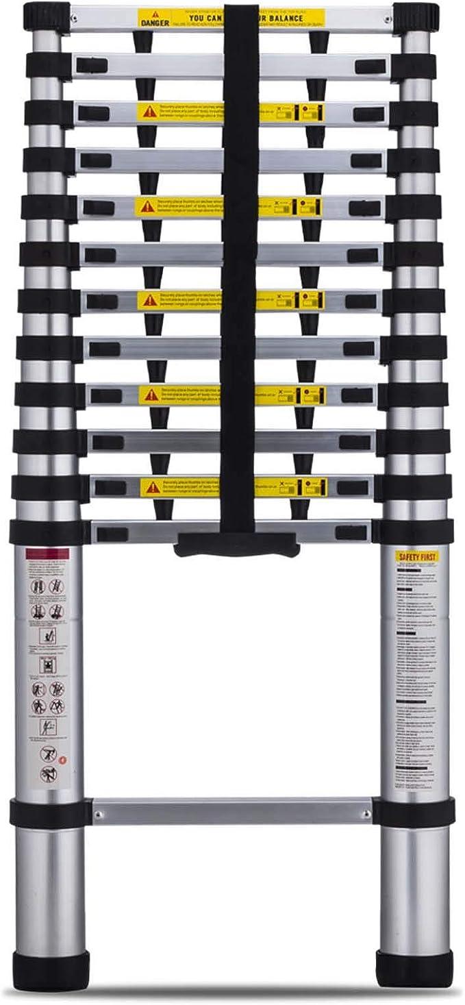 Stroops Plastic Flat Rung Ladder 15-Foot
