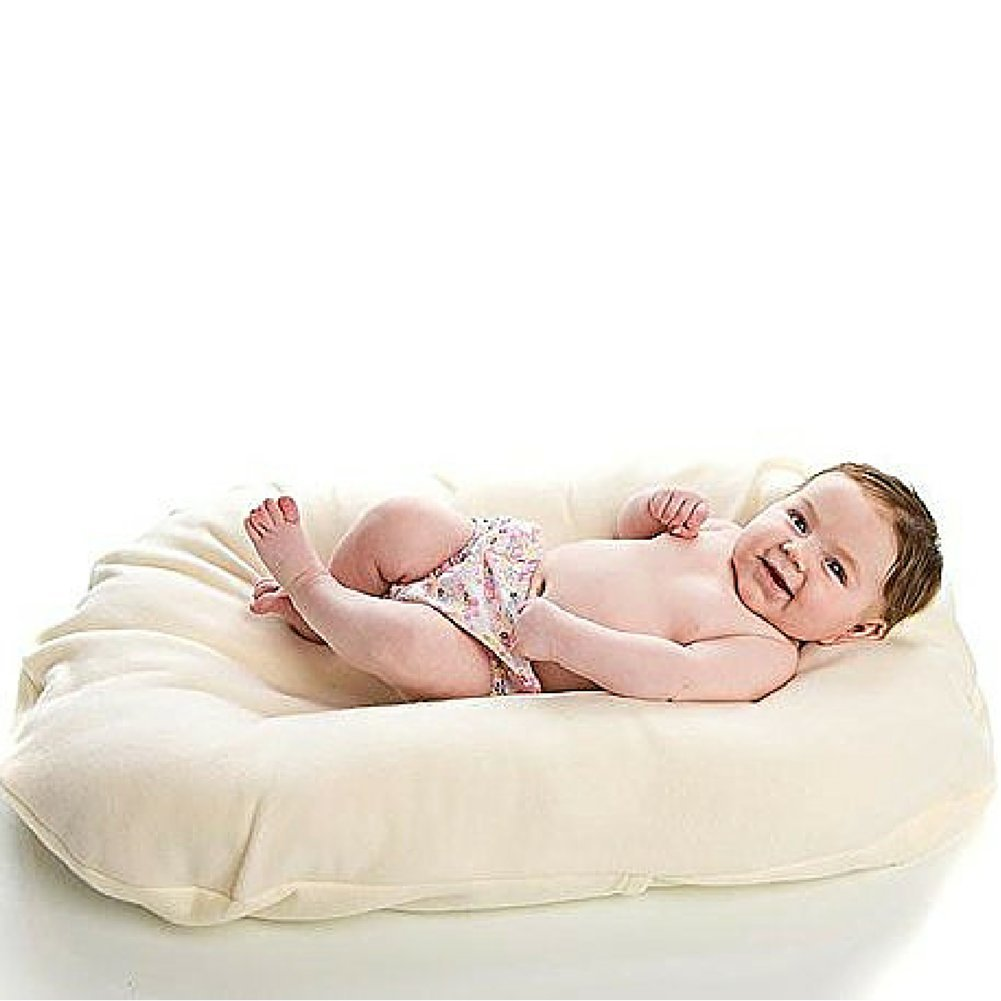 Snuggle Me WOOl | Infant Lounging and Bed Sharing Cushion