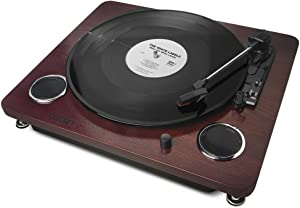 ION Forever LP Digital Conversion Turntable with Built-In Speakers