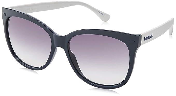 Havaianas Sahy Gafas de sol, Multicolor (Bluewhite), 56 para ...