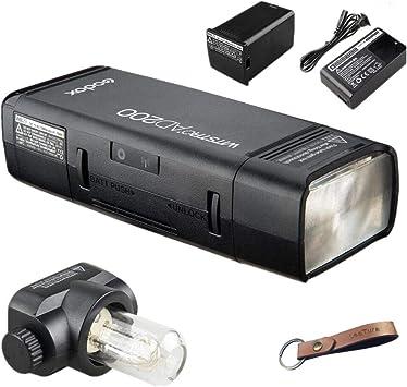 Godox AD200 TTL Double Head Pocket Speedlite Camera Flash For Nikon Canon Sony