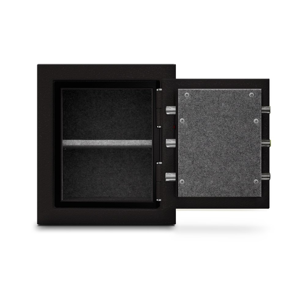 Mesa Safe MBF1512C All Steel Burglary and Fire Safe with Combination Lock, 1.7-Cubic Feet, Hammered Grey by Mesa Safe (Image #4)