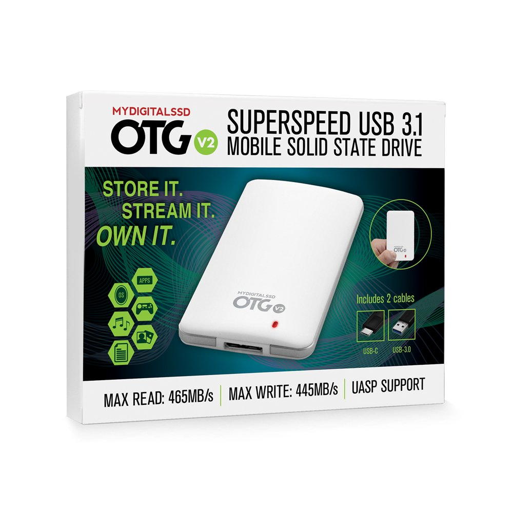 MyDigitalSSD 480GB (512GB) OTG V2 SuperSpeed USB 3.1 Gen 1 Portable SSD with UASP Support - MDMS-OTG-512 by MyDigitalSSD (Image #7)