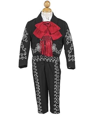 Amazon.com: Traje De Charro MX-546 Blanco: Clothing
