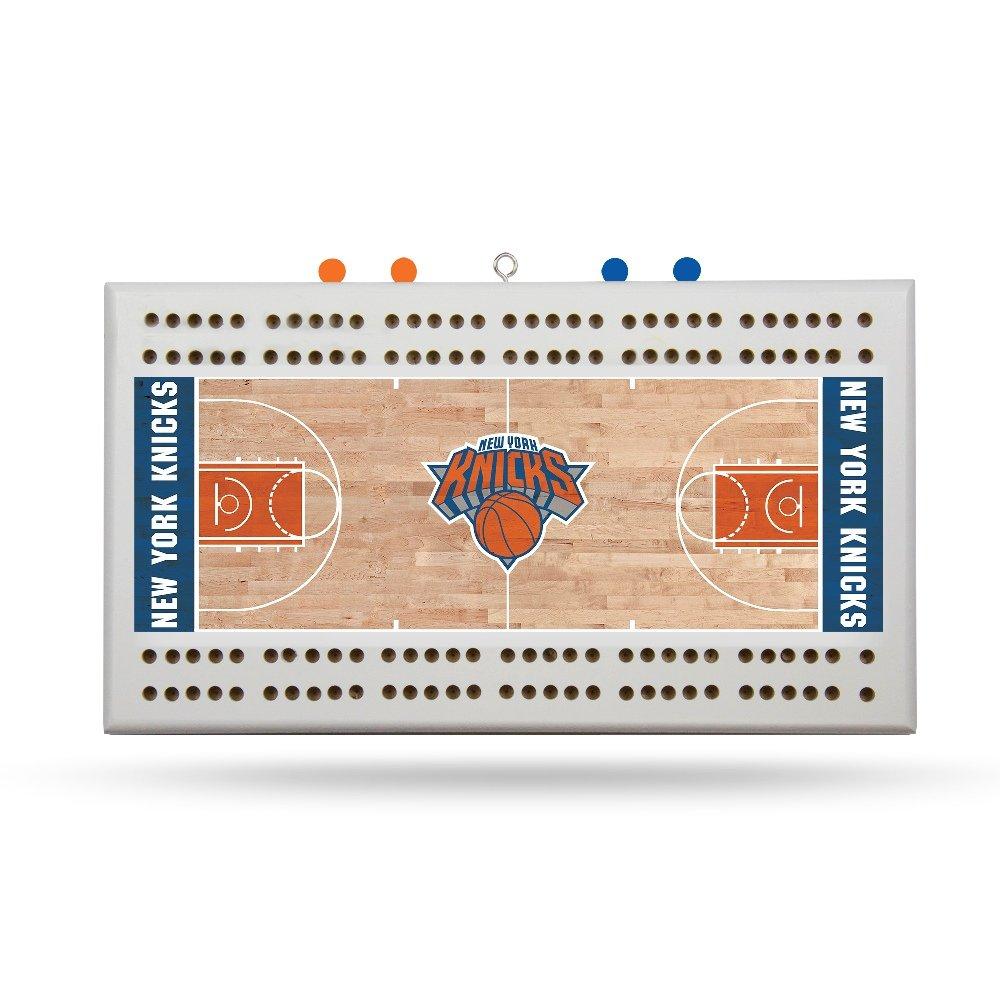 Rico New York Knicks NBA Licensed 2 Track Cribbage Board