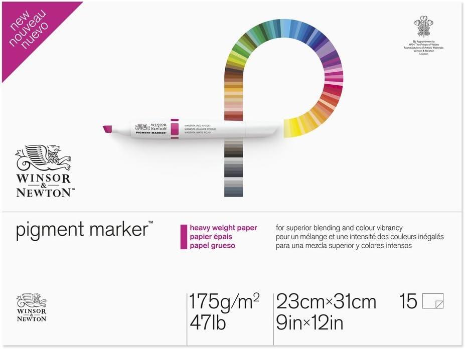 Winsor & Newton Pigment Marker Heavy Weight Pad, 9