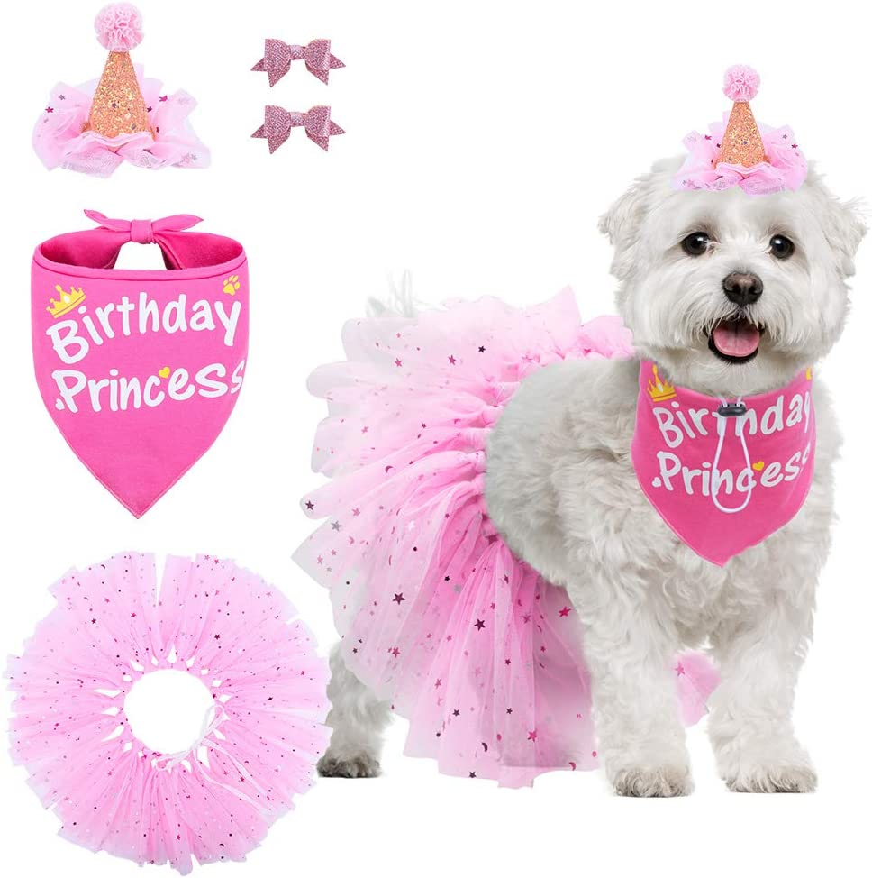 Triple Layer-Double Stitched Beauty Adjustable 3 Snap Custom Neck Size Bandana Cotton Pink Digital Glitter Dog Bandana