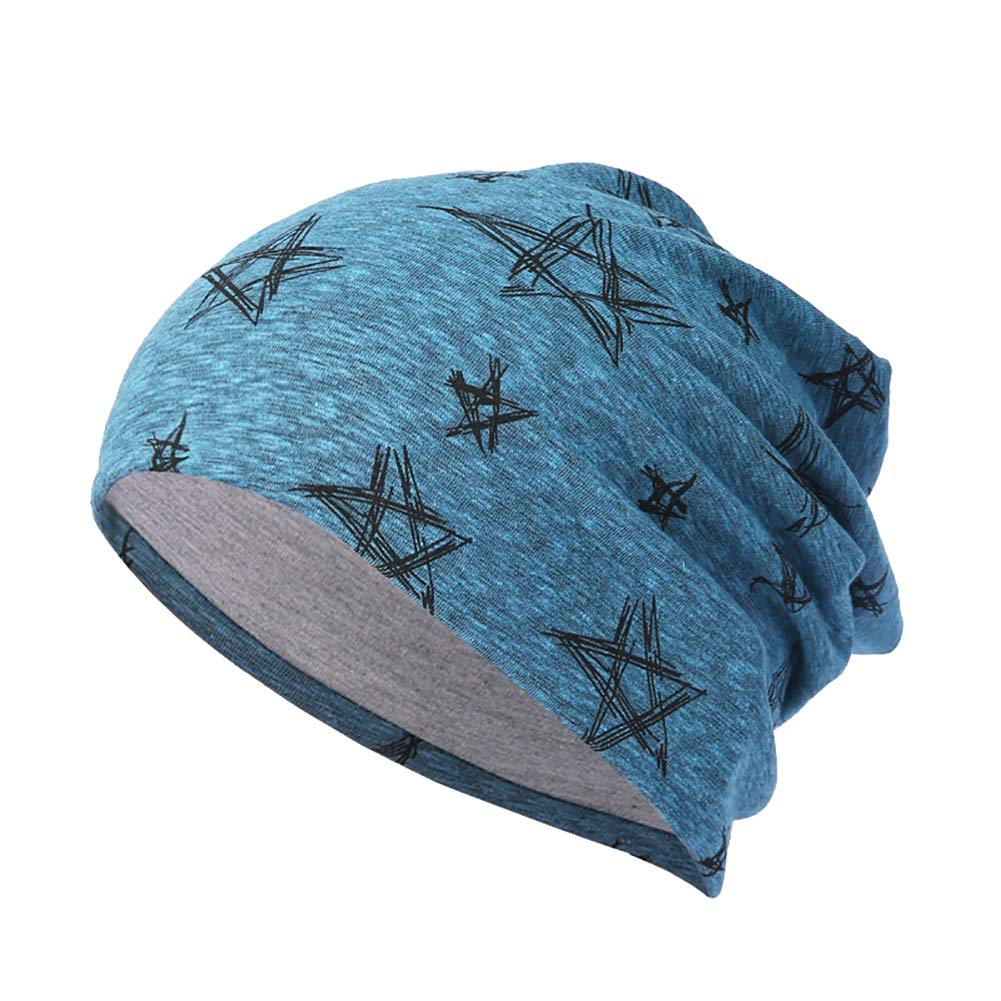 Infgreate Stylish Warm Hat Hip Hop Elastic Star Street Dance Beanie Cap Women Men Autumn Winter Knitted Hat