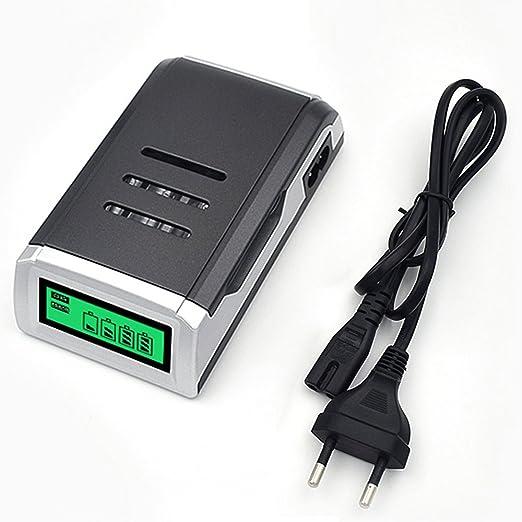 2 opinioni per Caricabatterie Intelligente per Batteria per AA AAA NiMH Batterie Ricaricabili
