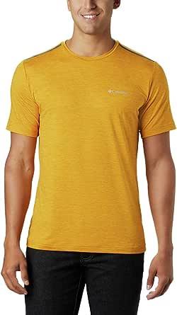Columbia Men's Tech Trail Crew Neck Shirt, Wicking, Sun Protection
