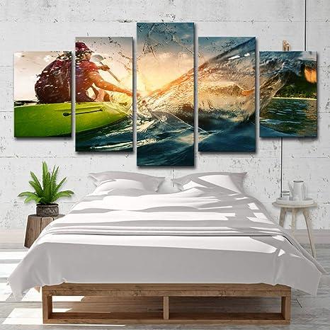 Lakhafzy Prints On Canvas Frameless Pre Printed Canvas