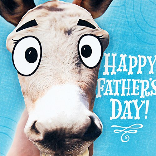Hallmark Father's Day Funny Greeting Card with Sound (Donkey Smart-Ass) Photo #5