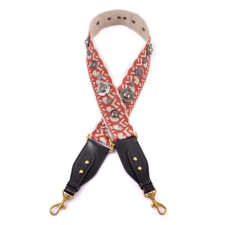 Yulongo Women Bag Strap Adjust Handle For Lady Shoulder Strap Trendy Canvas Bags Belts,Cai Se,Onesize