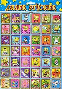 Amazon Com Spongebob Squarepants Assorted Stamp Like