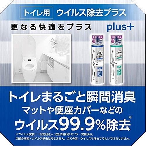 トイレの消臭力スプレー 消臭芳香剤 トイレ用 トイレ ウイルス除去プラス フレッシュグリーン 280ml