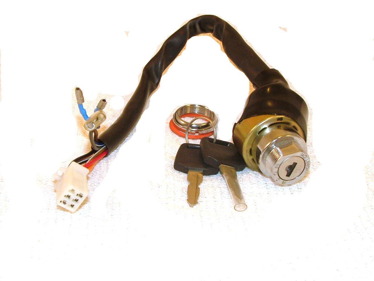 Ignition Key Switch 6 Wire Male Plug Atvs And Go Karts 110 Atv Wiring Diagram Automotive