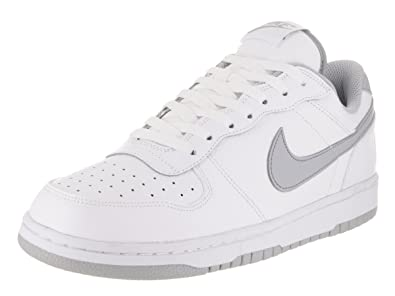 Nike Big Nike Low Nike- White basketball shoes