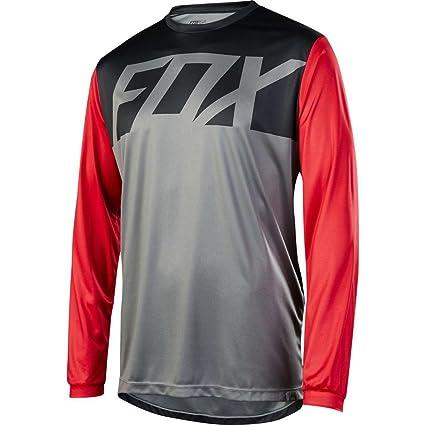 eee730e60 Amazon.com   Fox Racing Ranger Jersey - Long-Sleeve - Men s Graphite ...