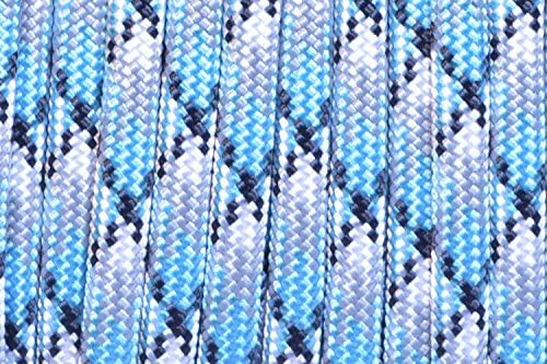 BoredParacord Brand 550 Paracord Assorted Colors of in 50 and 100 Foot Lengths Made in The USA