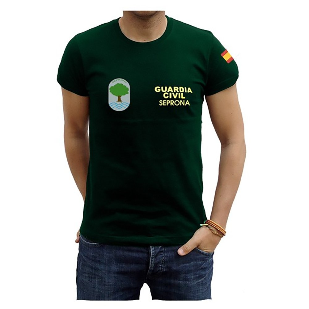 Piel Cabrera Camiseta Guardia Civíl Seprona: Amazon.es: Ropa y accesorios
