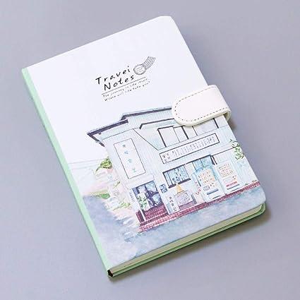Cuaderno de Tapa Dura Páginas En Color Ilustraciones Niñas ...