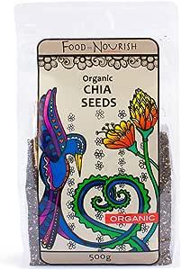 Food to Nourish Food to Nourish Organic Chia Seeds 500 g