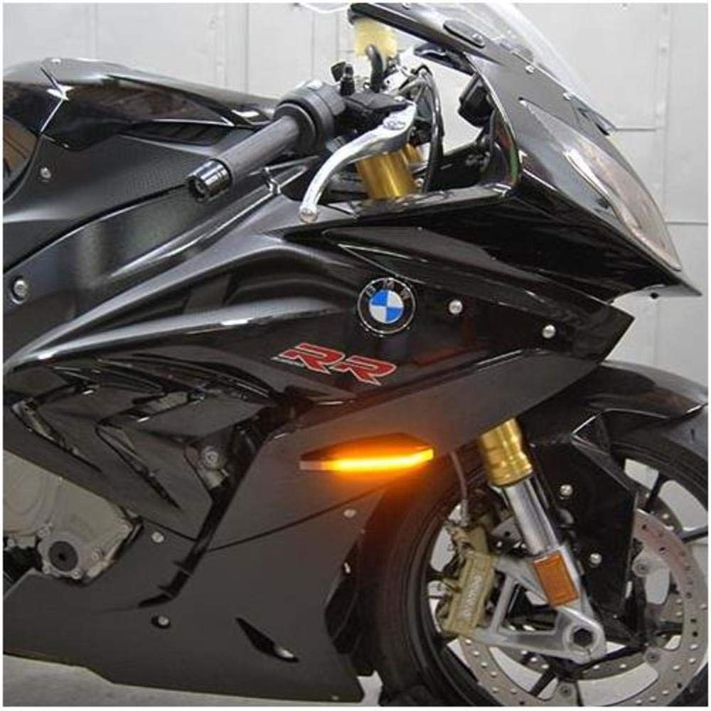 BMW S1000RR LED Front Turn Signals Rage Cycles New Rage Cycles