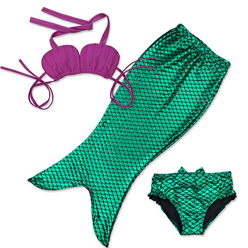 BALORAY Mermaid Swimsuit Swimming without product image