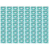 Beauticom BULK Quantity: 432 Pieces 50G/50ML TEAL Color Frosted Container Jars with Inner Liner for Small Jewelry, Beads, Charms, Rhinestones, Nail Accessories - BPA Free