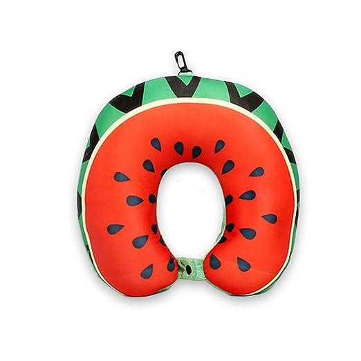Cojín en forma de U para el cuello de frutas, sandía, para ...
