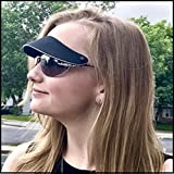 Sun Visor attaches to your sunglasses