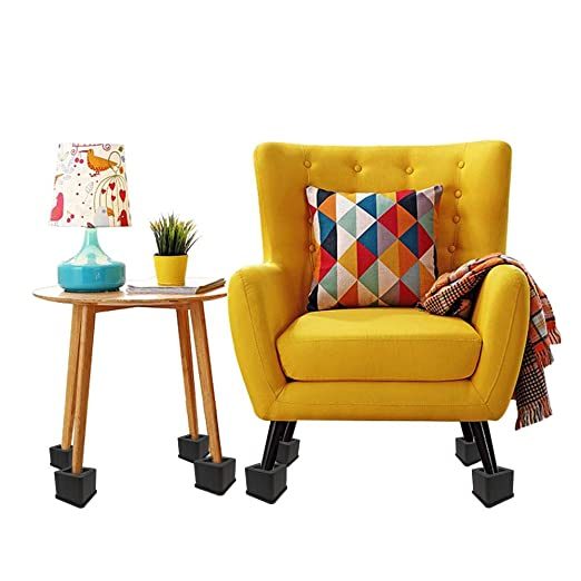 Seasons Shop 4PCS 3-Inch Bed Riser Heavy Duty Furniture ...