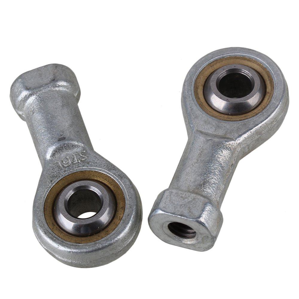 Female Oscillating Bearing Thread End Joint Bearing Machine Ball Bearing 6mm Inside Dia Pack of 2