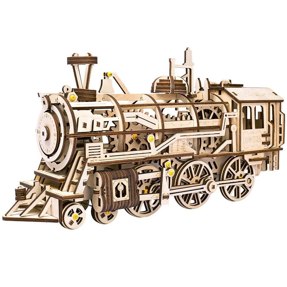開店記念セール! lk701 Locomotive DIYレーザーカット3d木製パズルMechanicalワインドアップ: Locomotive B076BZ5DZ6 lk701 B076BZ5DZ6, 原宿ゼンモール:335c5920 --- clubavenue.eu