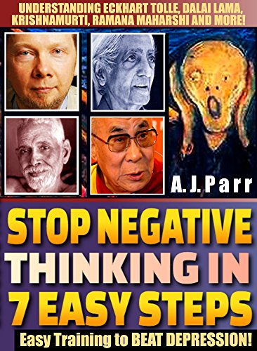 Negative Thinking Understanding Krishnamurti Maharshi ebook product image