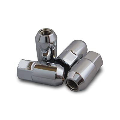 Polaris RZR 570 800 900 Chrome Lug Nut for Aluminum Wheels (Set of 4) 7547309: Automotive