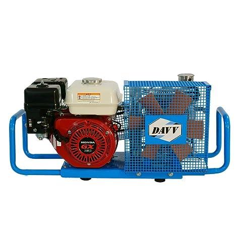 Compresor de aire DAVV 100L/Min 5.5-HP a gas 4500psi gasolina unidad estación