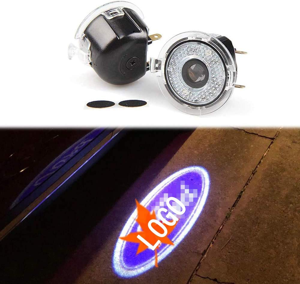 Mirror lights with logos For Jeep 2pcs Side rear view mirror projector ghost shadow puddle logo light for JEEP CHEROKEE