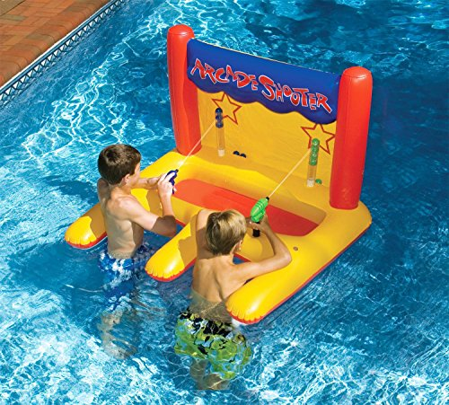 "45"" Water Sports Inflatable Arcade Shooter Target Swimming Pool Game"
