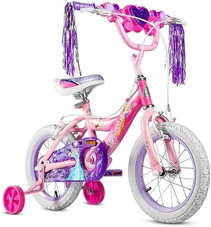MDYMX Bicicleta para niños Bicicleta Infantil niña Bicicleta Caja Princesa luz 12 Bicicleta Pedal para niños: Amazon.es: Hogar
