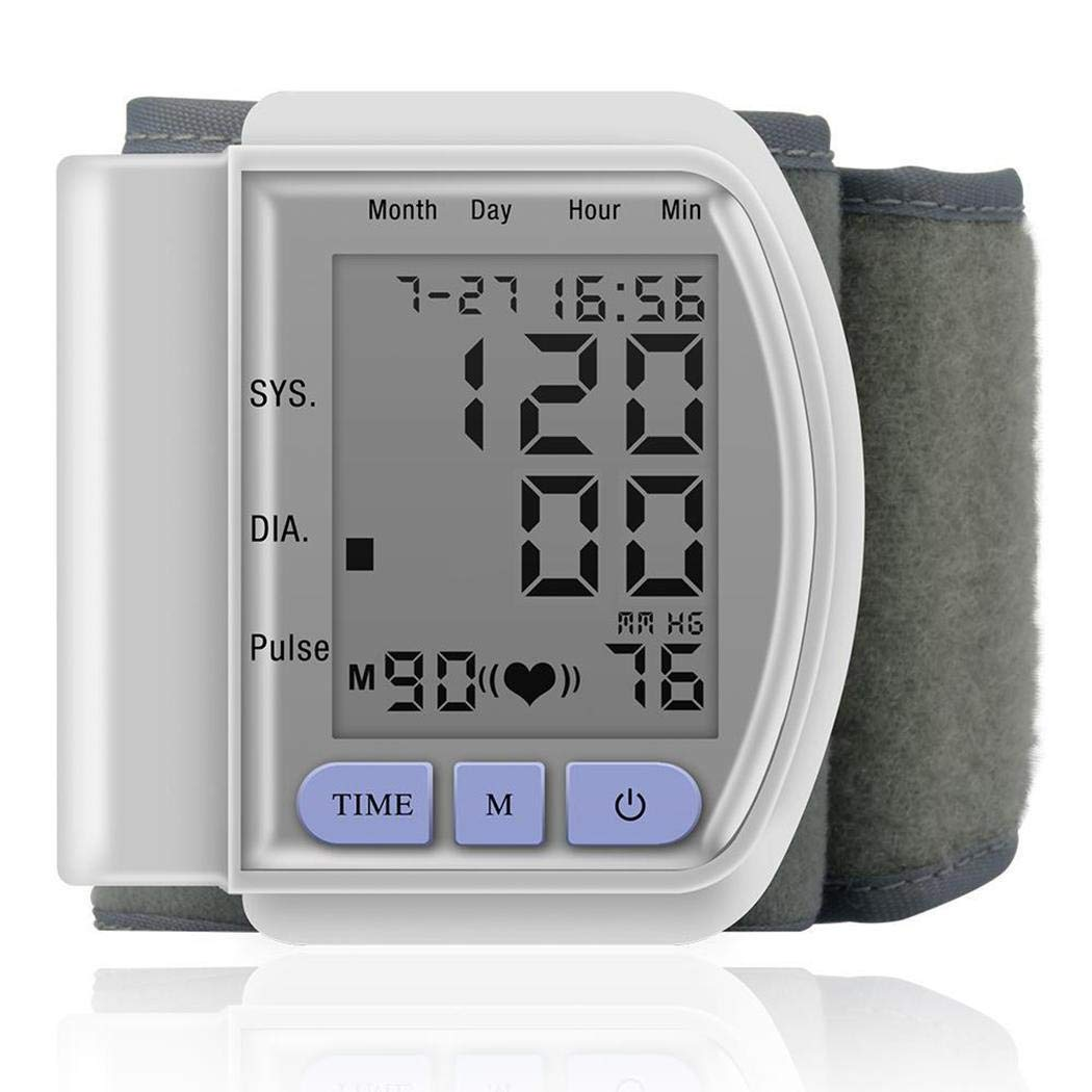 Legros8 Durable Automatic LCD Digital Display Wrist Blood Pressure Monitor by Legros8 (Image #2)