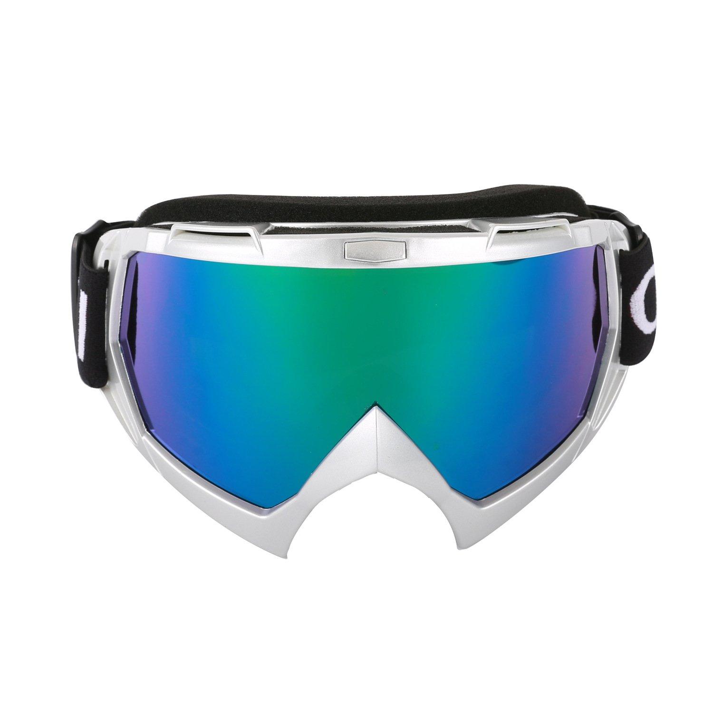 Cuzaekii MT003 Anti-fog UV400 MTB Dirt Bike ATV Motorcycle Motocross Racing Goggles Ski Snowboard Snowmobile Glasses (Black) Shenzhen Feiya Xinchuang Technology Co. Ltd