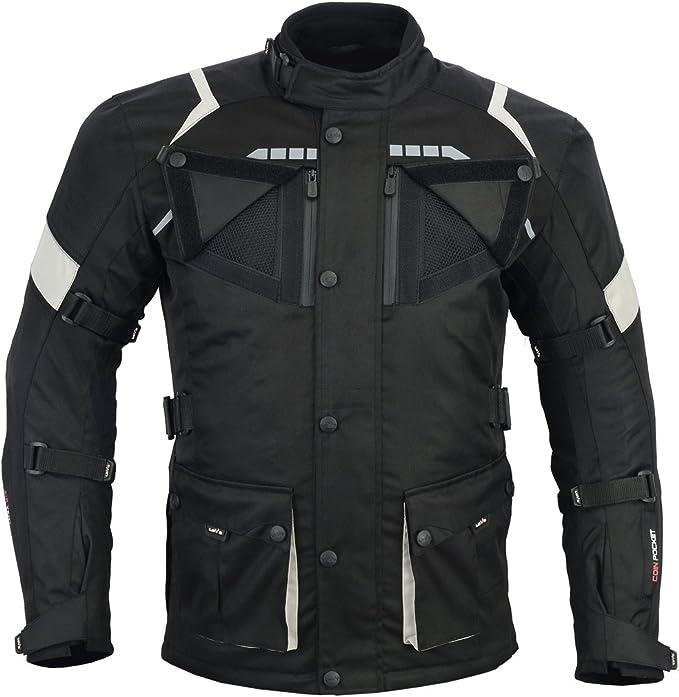 LOVO Chaqueta 3/4 para moto (Hombre) (M): Amazon.es: Coche y moto