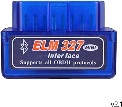 Image ofBluetooth OBD2 2.1 Car Diagnostic Scanner Reader ELM 327 Compruebe la luz del Motor para Android