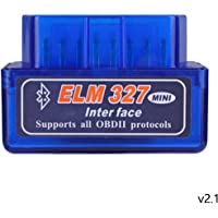 Bluetooth OBD2 2.1 Car Diagnostic Scanner Reader ELM