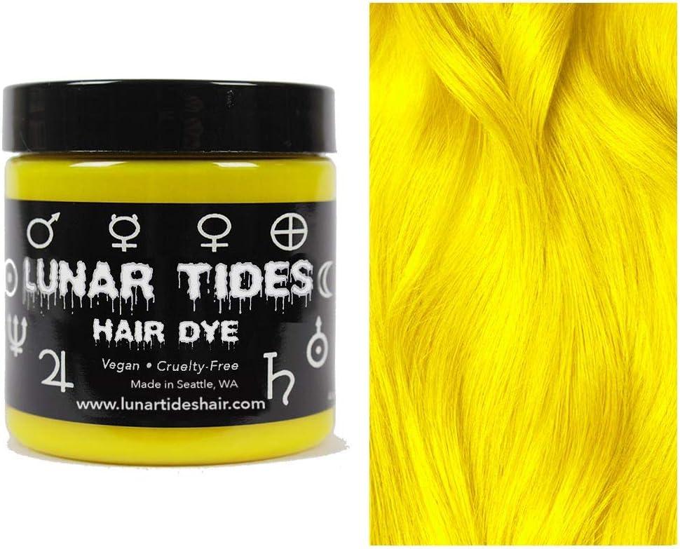 Citrine Yellow, tinte semi permanente para el cabello amarillo - 118 ml - Lunar Tides