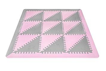 Pavimento In Gomma Per Bambini : Lubabymats u tappeto a puzzle per bambini in gomma eva per un