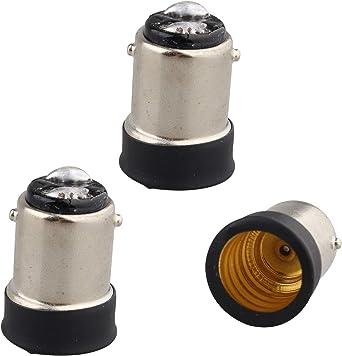 4x Lampensockel B15 SBC auf E14 Lampe Glühbirne Adapter kleine Bajonett Halter
