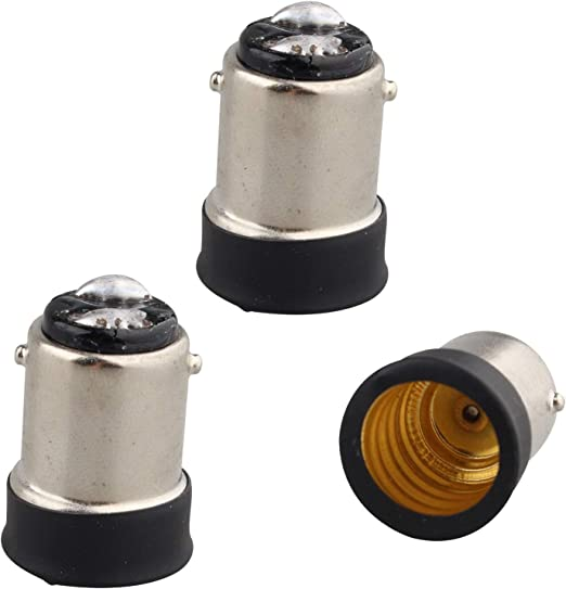 SBC B15 To Screw E14 SES Bayonet Light Lamp Bulb Adaptor Plug Converter Holder